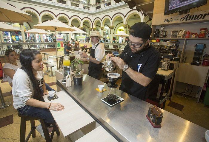 Cultura del café en el centro