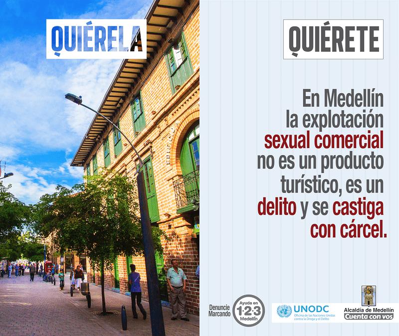 Turistas responsables para Medellín