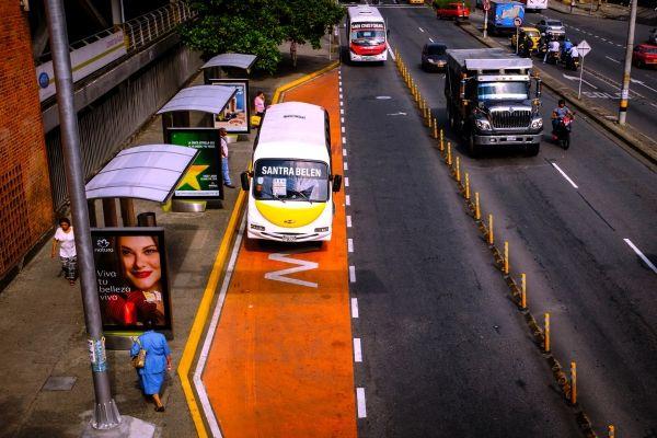 Medellín estrena carriles exclusivos
