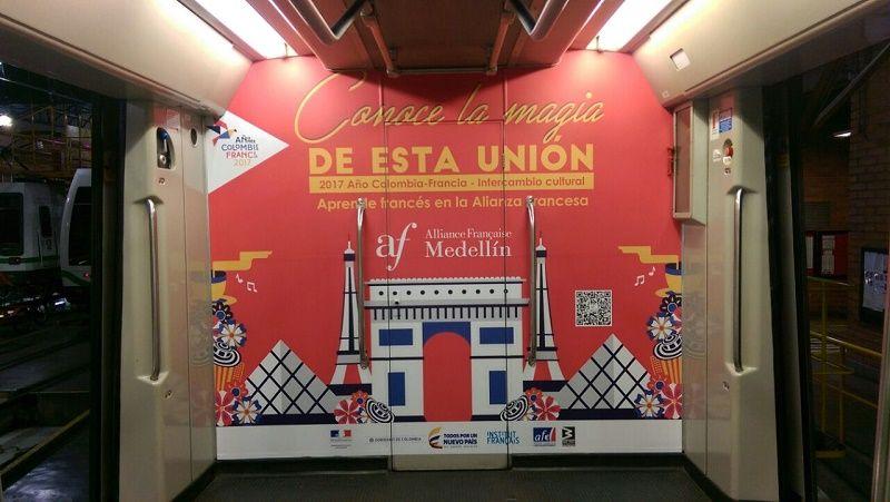 Francia y Colombia entrelazan sus culturas