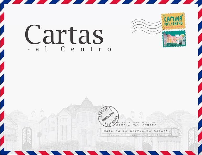 Cartas al centro