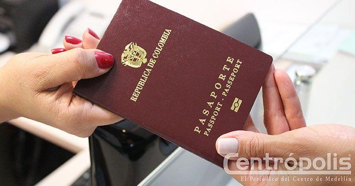 pasaporte medellin