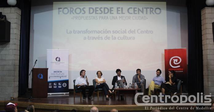 Transformación del centro desde la cultura