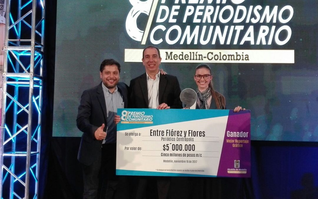 Centrópolis recibe Premio de Periodismo