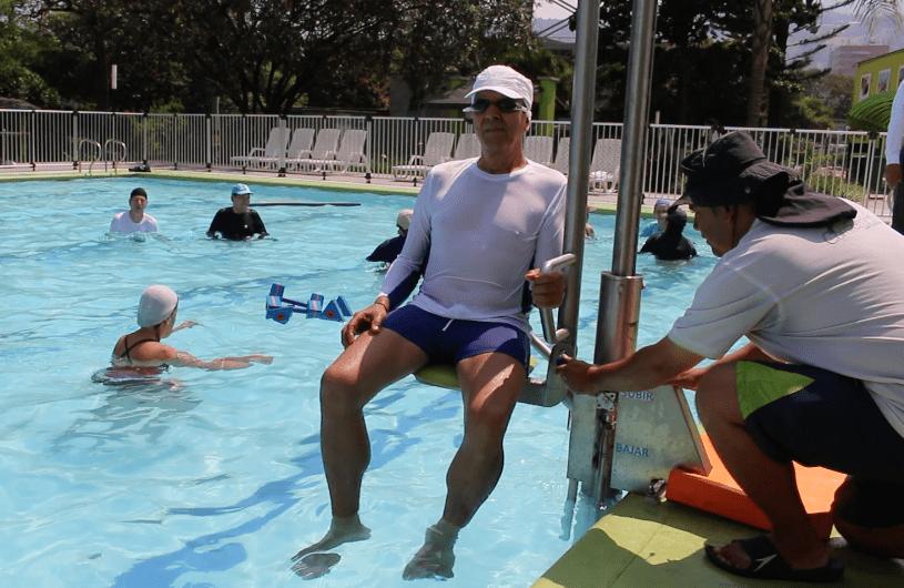 Las piscinas de Comfenalco ahora son más incluyentes