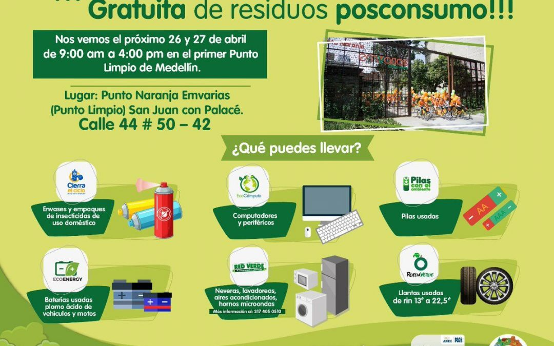 Gran jornada de recolección gratuita de residuos en el centro