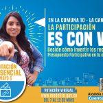 La comuna 10 votará por sus proyectos de Presupuesto Participativo
