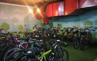 En el Día Sin Carro, Edificio Coltejer inaugura parqueadero de bicicletas