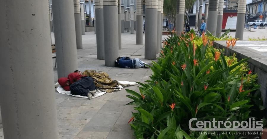 Habitantes de calle no respetan
