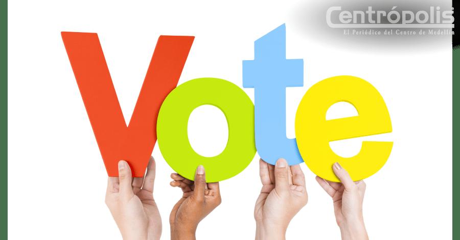 Votar es el más alto ejercicio de  poder ciudadano