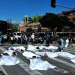 Inusual protesta por aumento de muertes violentas en la ciudad