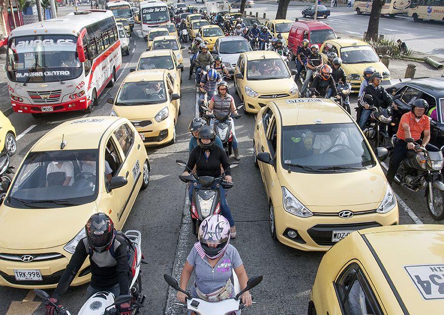 Por paro de taxistas conozca cómo movilizarse en el centro