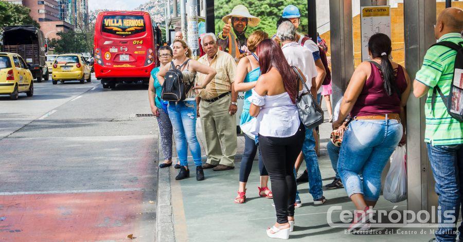 Usuarios de buses podrán medir sus tiempos de desplazamiento
