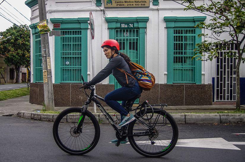 El centro en bicicleta es para aventureros