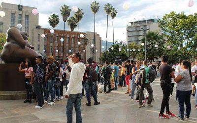 En el Centro de Medellín la cultura se va a la calle
