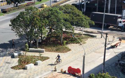 Alcaldía entrega nueva zona verde en el centro