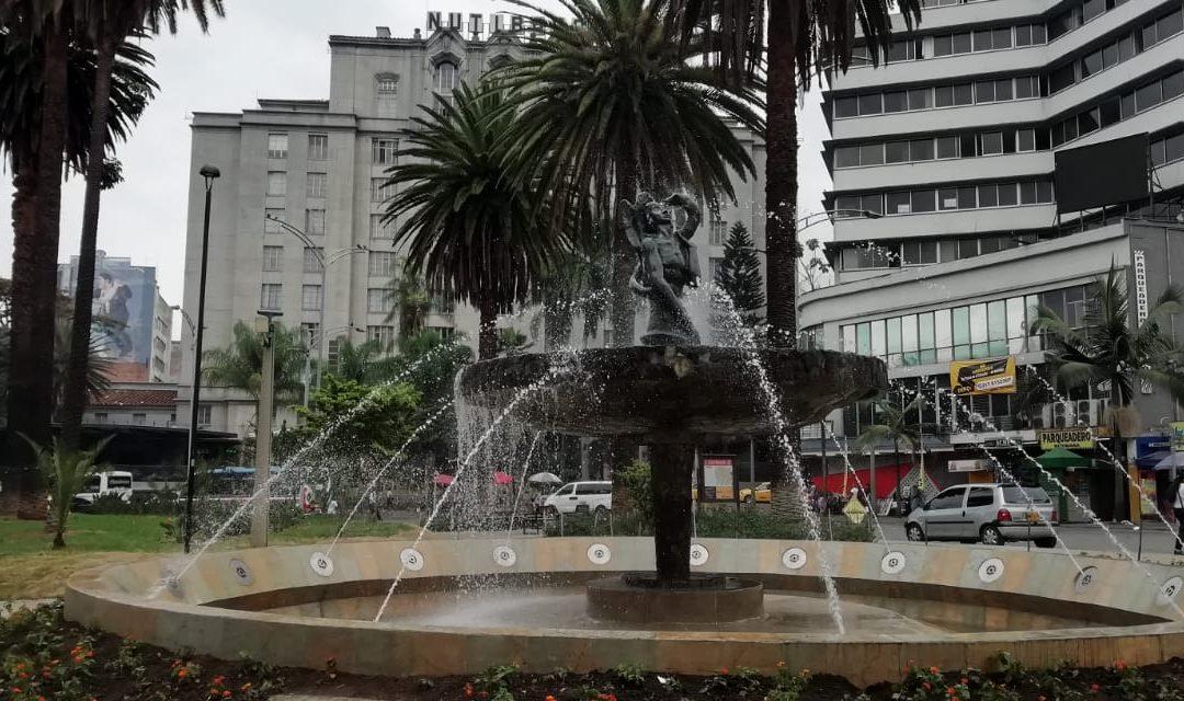 EN VIDEO | Vuelve a funcionar la fuente de la Plazuela Nutibara