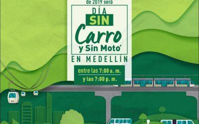 El 23 de abril será el Día sin Carro en Medellín