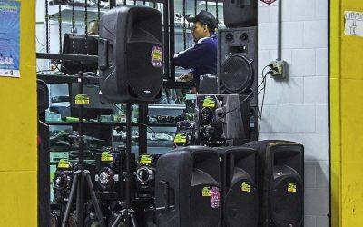 Combate al exceso de ruido  en el centro