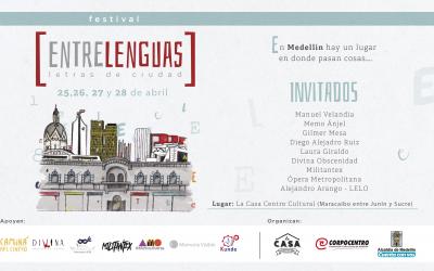 Festival Entre Lenguas: un encuentro entre las letras y la ciudad