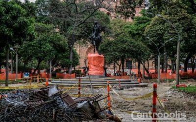 El Parque Bolívar se renueva