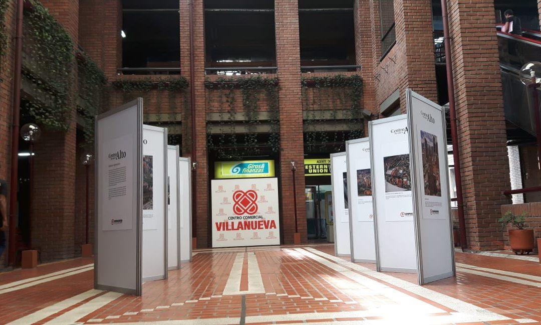 """Villanueva recibe la exposición fotográfica """"El centro por todo lo alto"""""""