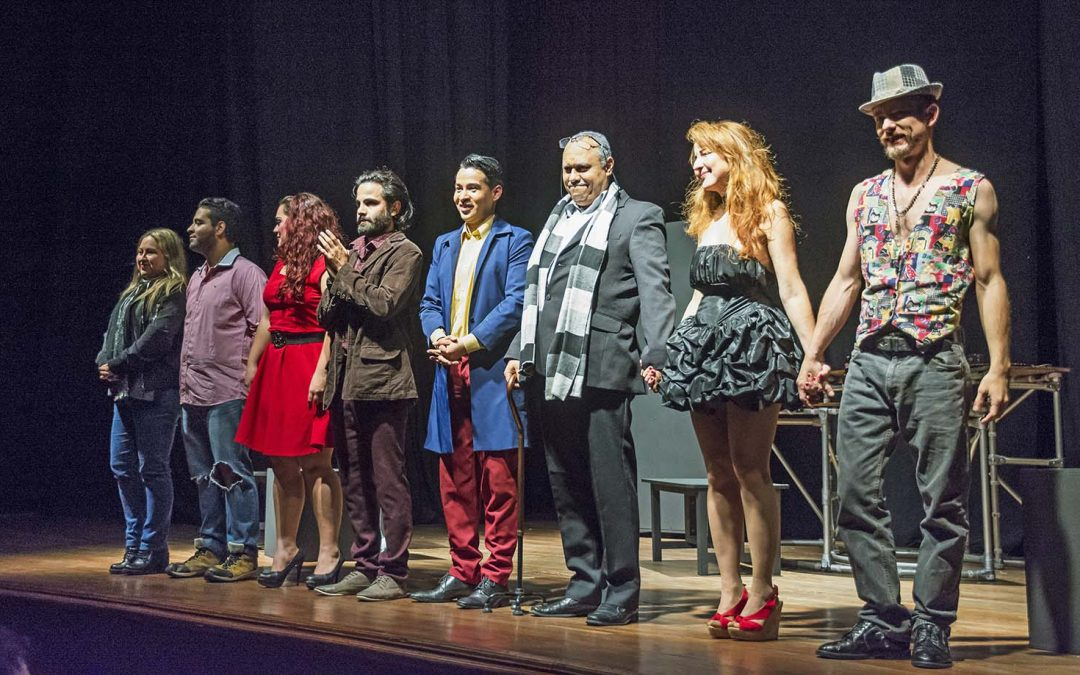 El teatro en el centro: vital pero volátil
