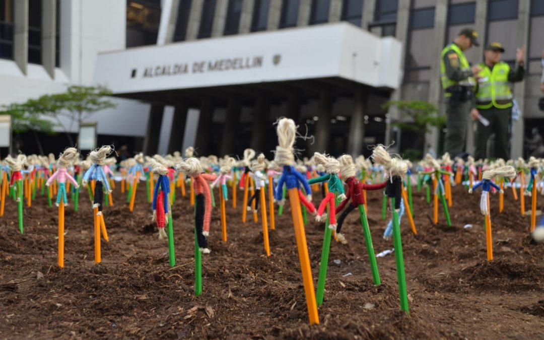 1.752 lápices contra el homicidio en Medellín