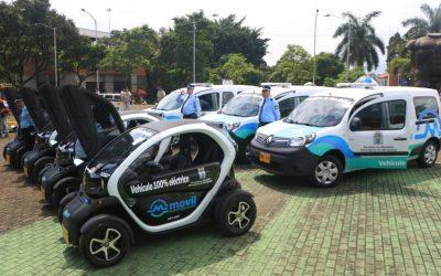 Flota eléctrica de la Secretaría de Movilidad le cumple a Medellín