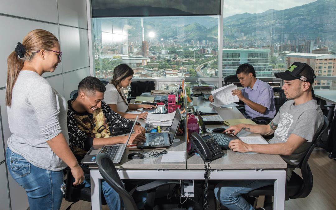 Coworking en el centro: un negocio que empieza a crecer