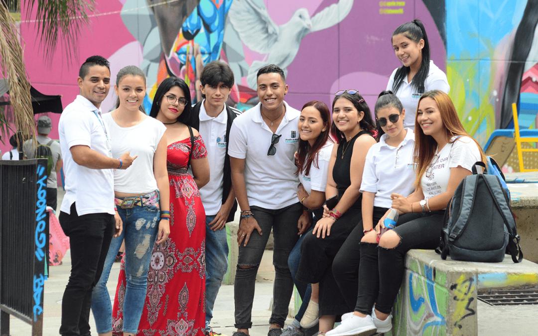 El líder sos vos, jóvenes formados para el futuro de Medellín