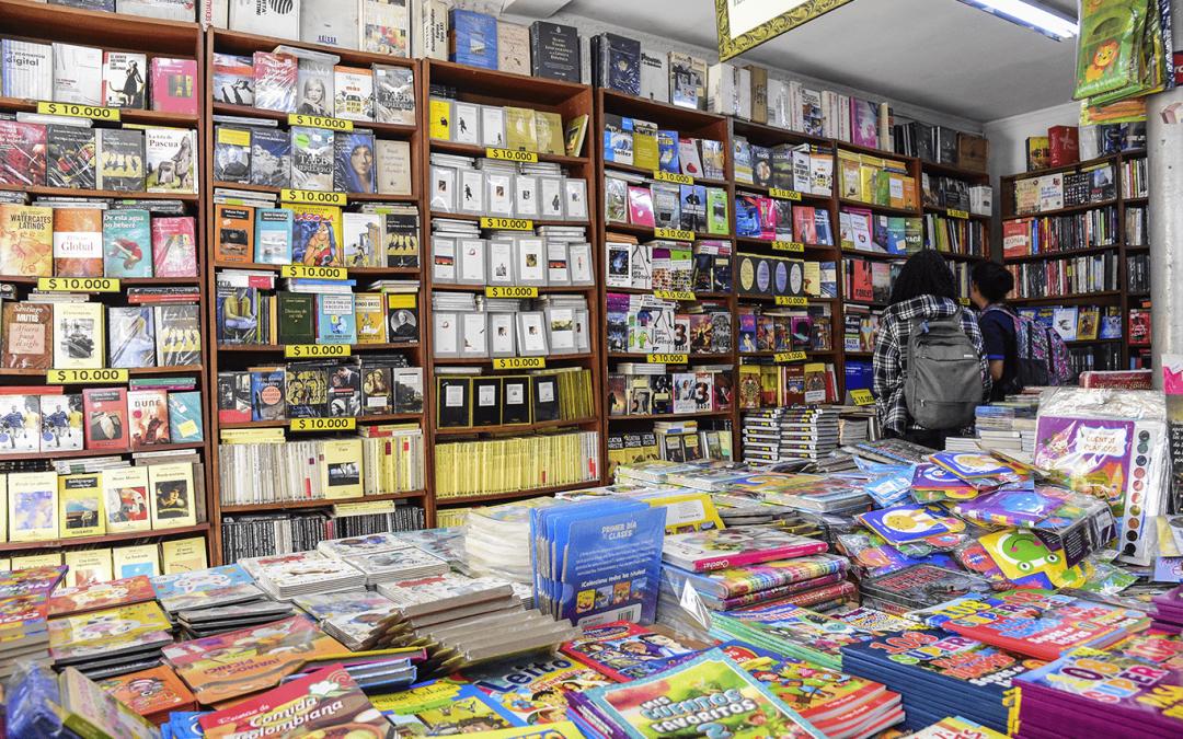 Vender libros en el centro y no fallar en el intento