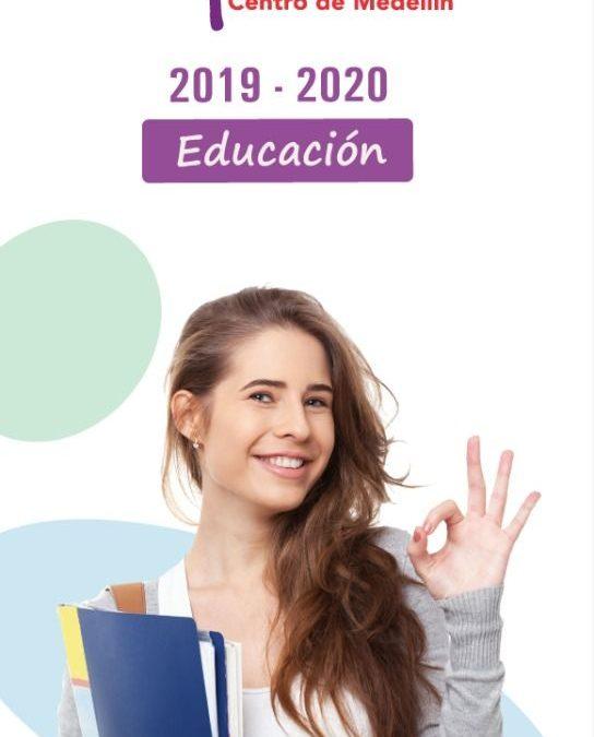 CORPOCENTRO publicó nuevo Mapaguía educativo de la comuna 10