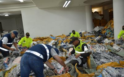 Los grandes del contrabando:  prioridad de la Policía Aduanera