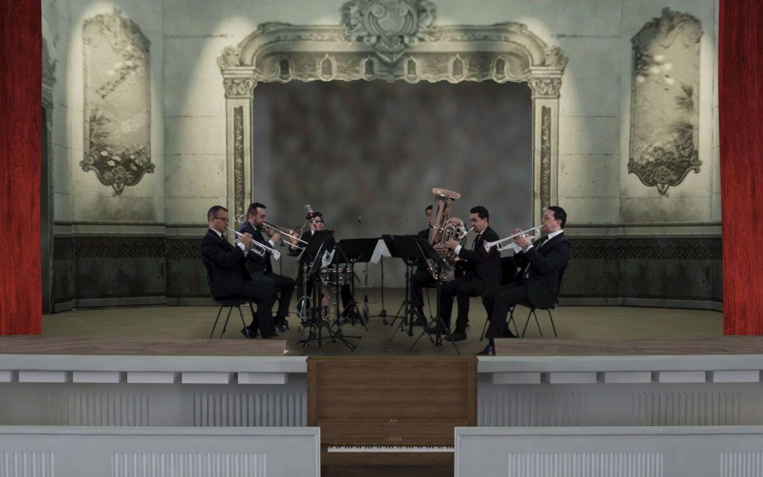 """Concierto de la Filarmónica en el """"demolido"""" Teatro Bolívar"""