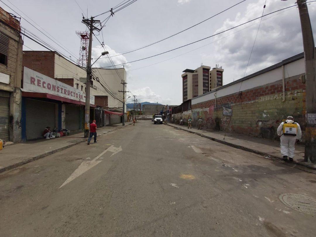 En cuarentena avanza recuperación de espacio público en el centro