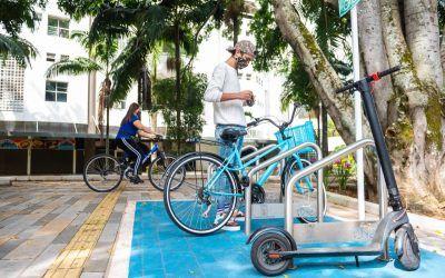 Se instalan 690 nuevos parqueaderos para bicicletas en Medellín