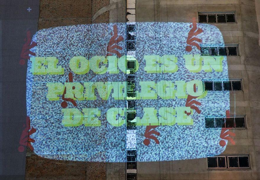 En el centro los muros son protesta, luz, arte y cultura