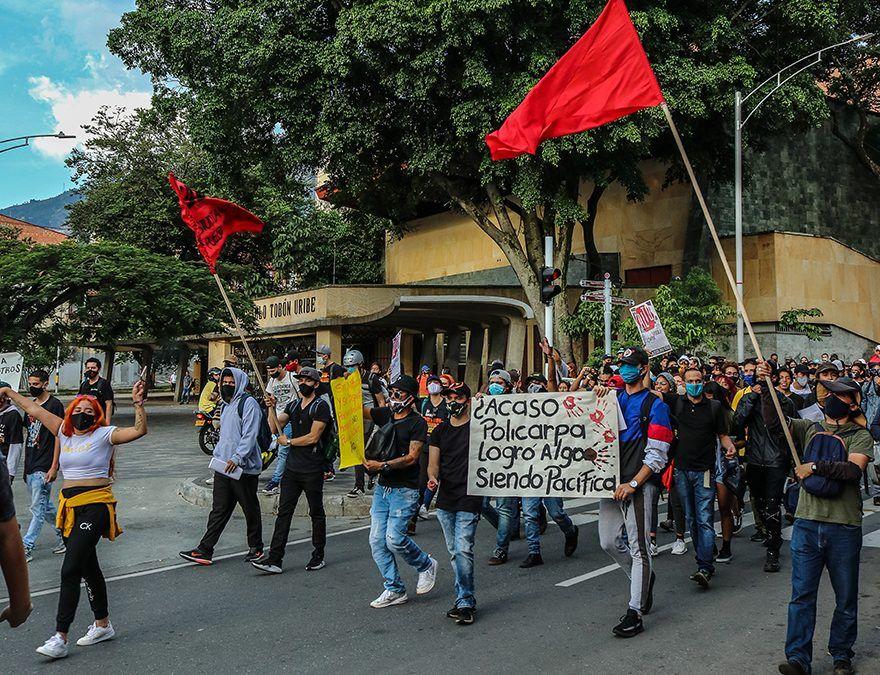 Recorrido de las marchas de este lunes 21 de septiembre