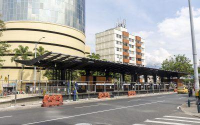 Parque de Prado y troncal de Metroplús casi listos para entrega a la comunidad