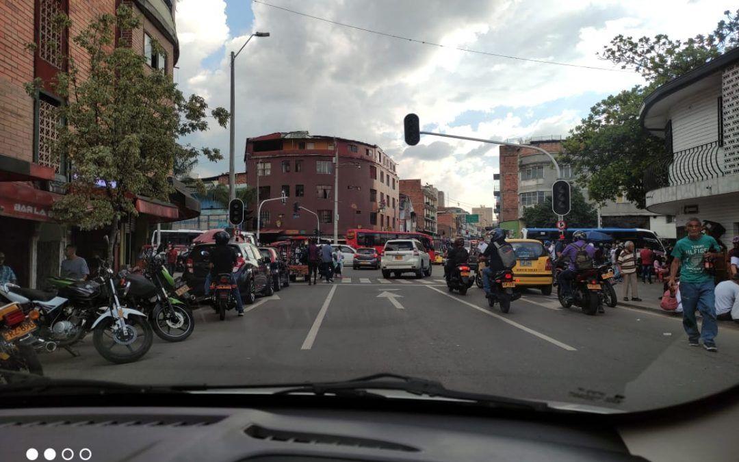 Descontrol del tráfico