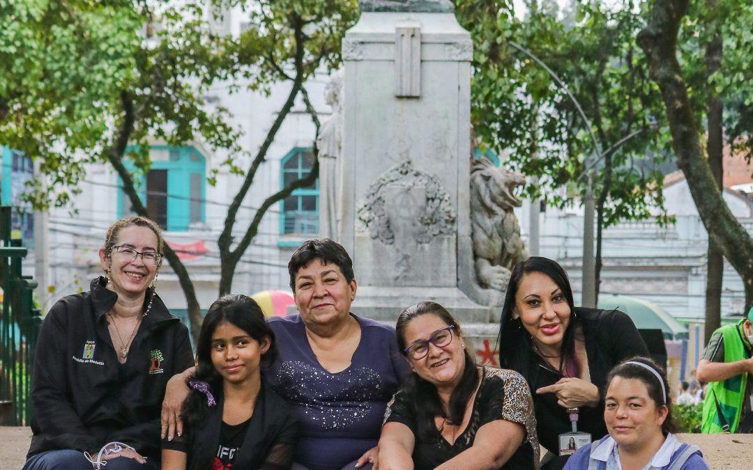 Las mujeres que mueven el centro de Medellín
