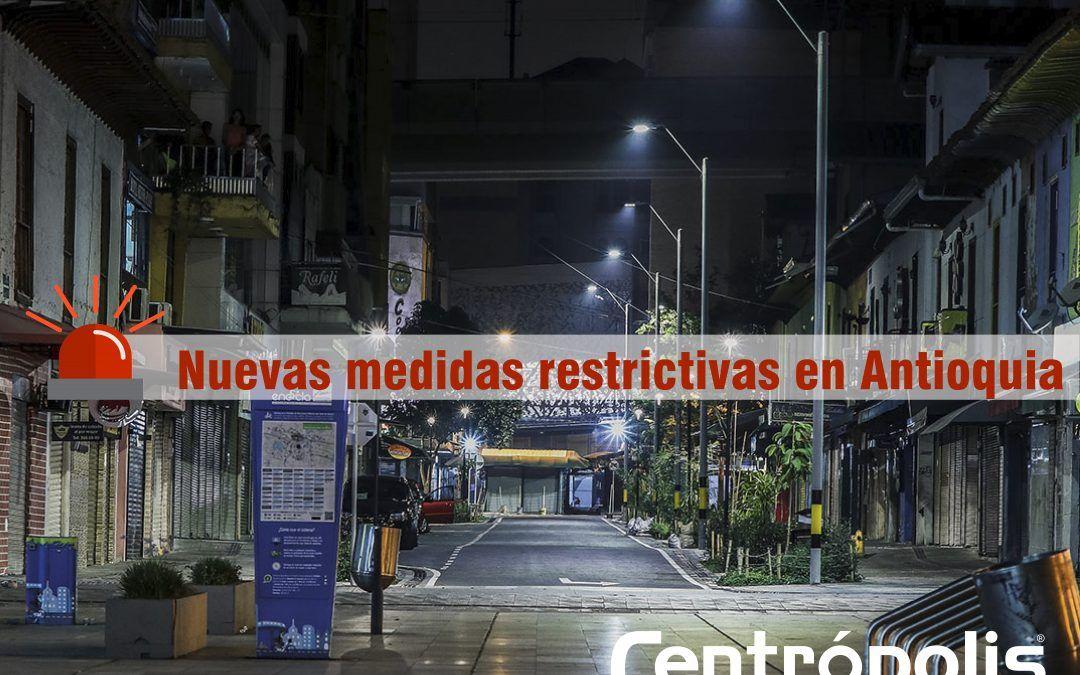 Antioquia extiende de nuevo medidas para contener el Covid-19