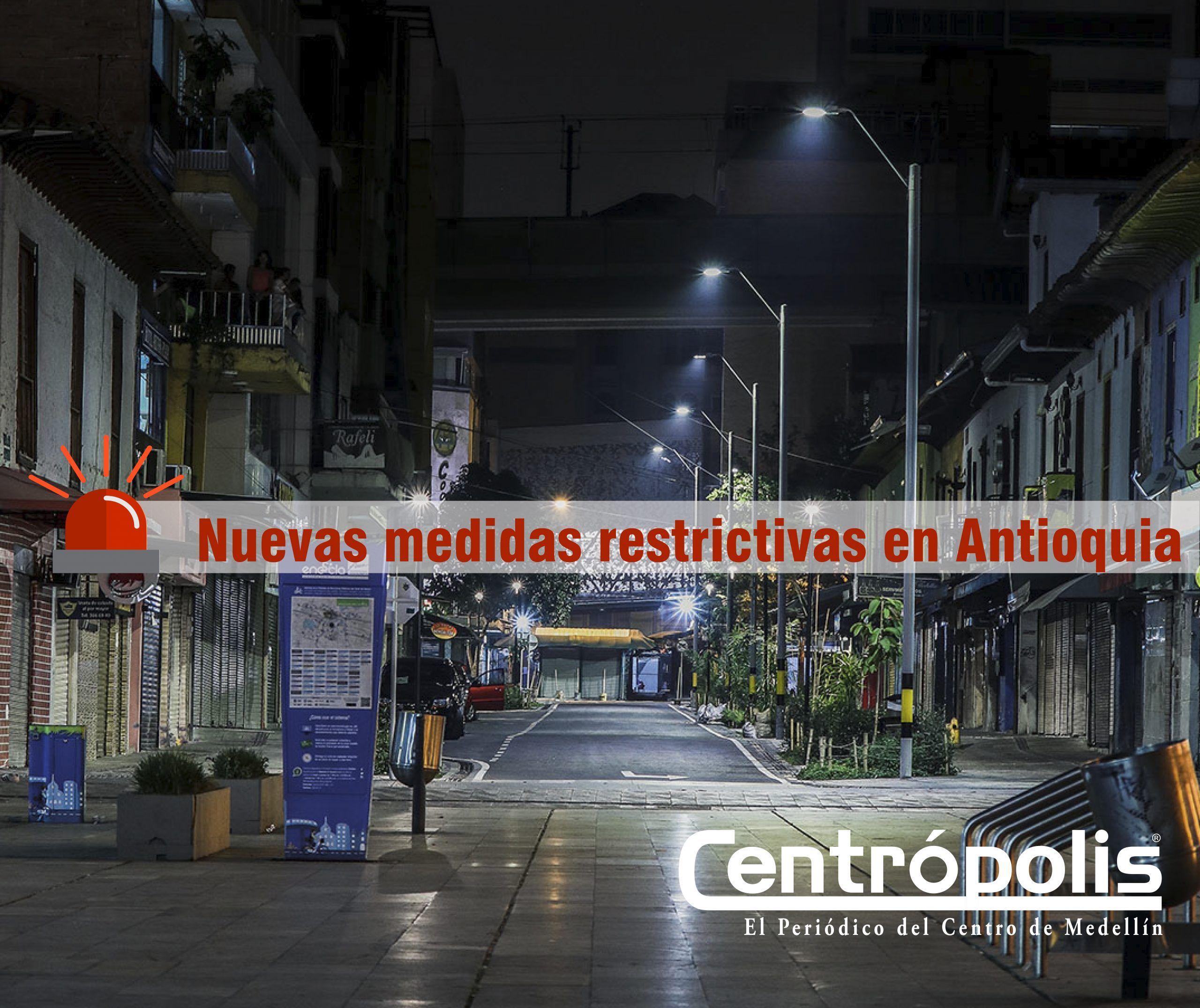 Gobernación de Antioquia modifica toque de queda en Semana Santa