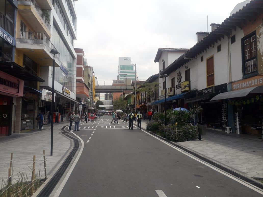Distrito comercial del centro