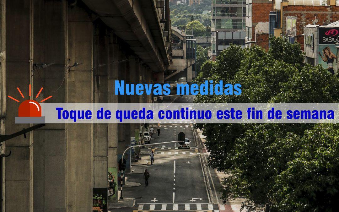 Gobernación decreta cierre total del área metropolitana y oriente antioqueño
