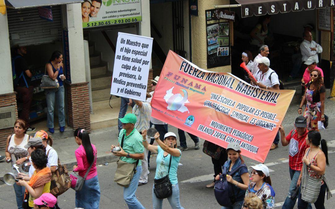 Estas son las rutas de las marchas del miércoles 28 de abril en Medellín