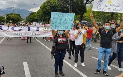 Atentos: Este jueves habrá nueva marcha en Medellín