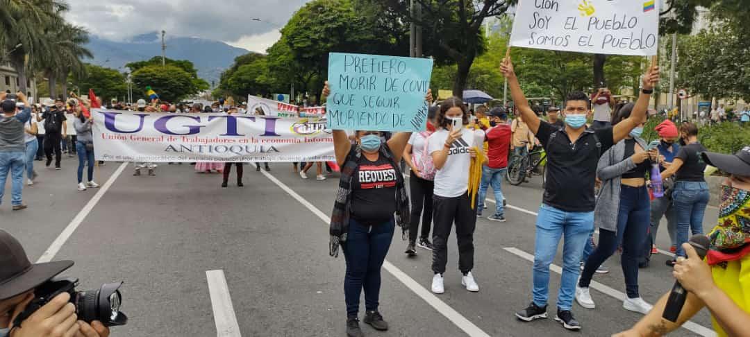 Estas serán las movilizaciones del 5 de mayo en Medellín