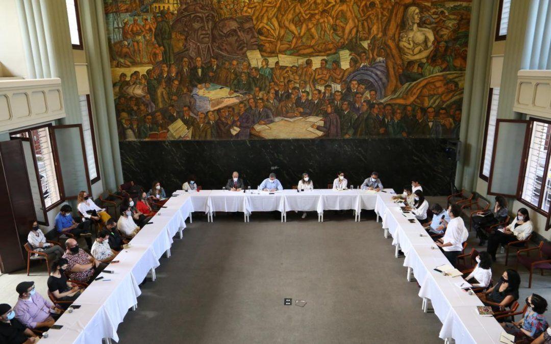 Diálogo social gobernación de Antioquia